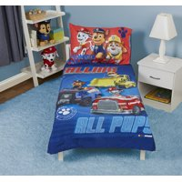 Paw Patrol Calling All Pups 4 Piece Toddler Bed Set