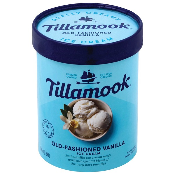 Tillamook Old-Fashioned Vanilla Ice Cream