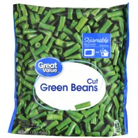 Great Value Cut Green Beans, 12 oz