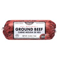 73% Lean/27% Fat, Ground Beef Roll, 1 lb