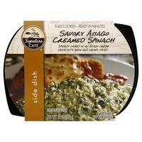 Signature Cafe Creamed Spinach, Savory Asiago