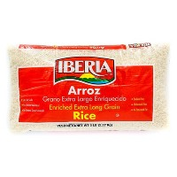 Iberia Enriched Extra long Grain Rice - 5lbs