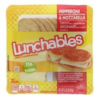 Lunchables Pepperoni & Cheese Convenience Meal