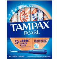 Tampax Tampons Super Plus Absorbency, Unscented