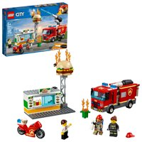 LEGO City Fire Burger Bar Fire Rescue 60214 Fire Truck Toy