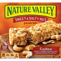 Nature Valley Granola Bars, Sweet and Salty Nut, Cashew