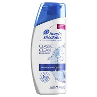 Head and Shoulders Classic Clean Daily-Use Anti-Dandruff Shampoo - 3 fl oz