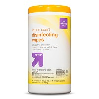 Disinfecting Wipes Lemon Scent 75 ct - Up&Up™