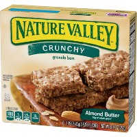 Nature Valley Almond Butter Crunchy Granola Bars - 6ct
