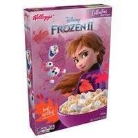 Kellogg's Disney's Frozen 2 Breakfast Cereal Original with Leaf and Build-Your-Own Olaf Marshmallows