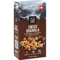 Avalanche Cheese Swiss Granola, Coconut, Quinoa & Chocolate