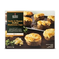 Garlic & Cheese Frozen Stuffed Mushroom Caps - 8pk/150g - Archer Farms™