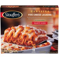 Stouffer's Five Frozen Cheese Lasagna Party Size - 96oz - 11ct