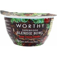 Worthy Blendie Bowl, Superfood, Dark Cocoa Cherry