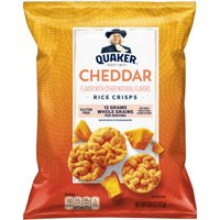 Quaker Rice Crisps, Cheddar Cheese, 6.06 oz Bag
