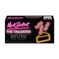 Meat District The Tailgater Frozen Chuck Beef Patties - 32oz