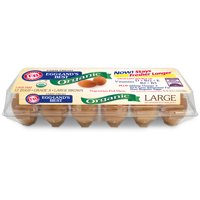 Eggland's Best Organic Large Brown Grade A Eggs, 12 Count