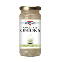 8oz. Snow White Cocktail Onions