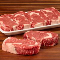 Kirkland Signature USDA Choice Beef Ribeye Steak Boneless