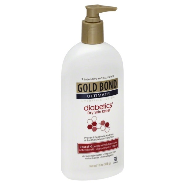 Gold Bond Ultimate Hydrating Lotion And Foot Cream Diabetics Dry