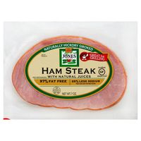 Jones Dairy Farm Ham Steak Hickory Smoked