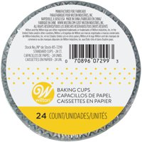 Wilton Foil Cupcake Liners, Teal, 24ct