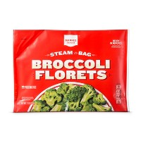 Steam-in-bag Frozen Broccoli Florets - 12oz - Market Pantry™