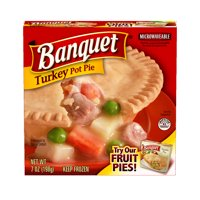 Banquet Frozen Pot Pie Dinner Turkey 7-Ounce