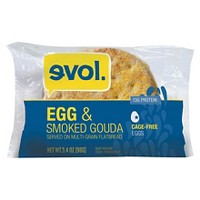 Evol Egg & Smoked Gouda Multi-Grain Flatbread Frozen Breakfast Sandwich - 3.4oz