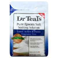 Dr. Teal's Epsom Salt, Pure, Fragrance Free