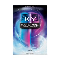 K-Y Yours + Mine Couples Personal Lubricants, 3 fl oz