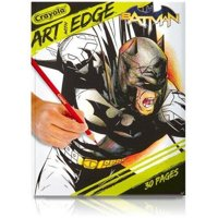 Crayola Art With Edge Batman Collection 30 Page Coloring Book