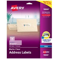 Avery Address Labels, Sure Feed, 1