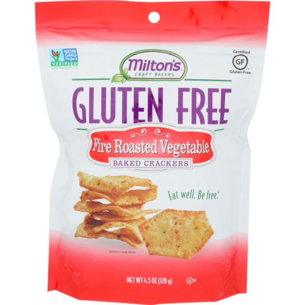 Milton's Craft Bakers Fire Roasted Vegetable Baked Crackers