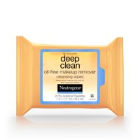 Neutrogena Deep Clean Oil-Free Makeup Remover Face Wipes, 25 ct