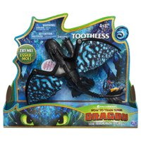 DreamWorks Dragons, Toothless Deluxe Dragon with Lights and Sounds, for Kids Aged 4 and Up