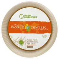 World Centric Plates, Compostable, 6 Inch