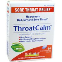 Boiron Throat Calm Sore Throat Relief Tablets