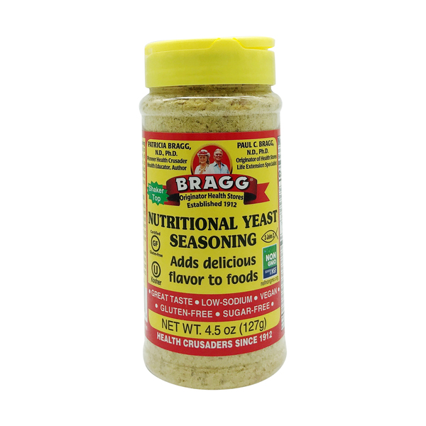 Bragg Live Food Products Premium Nutritional Yeast Seasoning, 4.5 oz