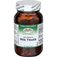 Sprouts Milk Thistle Powder Vegetable Capsules