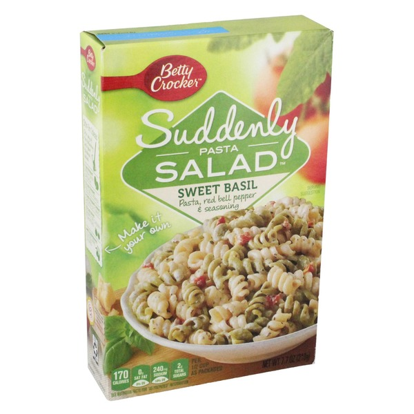 Betty Crocker Pasta, Sweet Basil