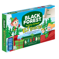 Black Forest Christmas Elfs Fruit Snacks Candy, 3 oz