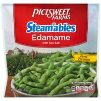 Pictsweet Farms® Steam'ables® Farm Favorites Edamame with Sea Salt 10 oz. Bag