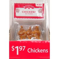 Holiday Time Chickens Figurine