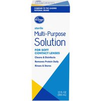 Kroger Multipurpose Solution For Soft Contacts