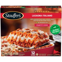 STOUFFER'S CLASSICS Lasagna Italiano, Party Size Frozen Meal