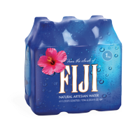 Fiji Natural Artesian Water, 1 L, 6 Count