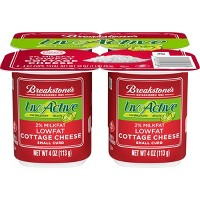 Breakstone's Live Active Low Fat Cottage Cheese - 4oz/4ct