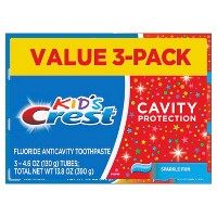 Crest Kid's Cavity Protection Sparkle Fun Flavor Toothpaste