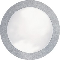 8ct Glitz Silver Disposable Placemats